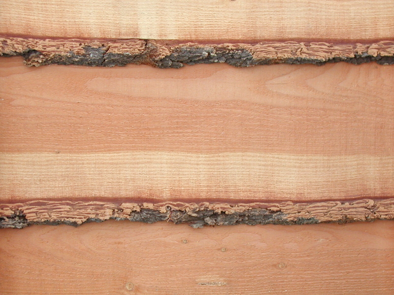 how to install rough cut wood siding